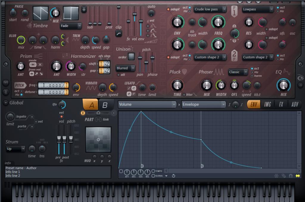 Harmor от Image-Linel - плагин для FL Studio