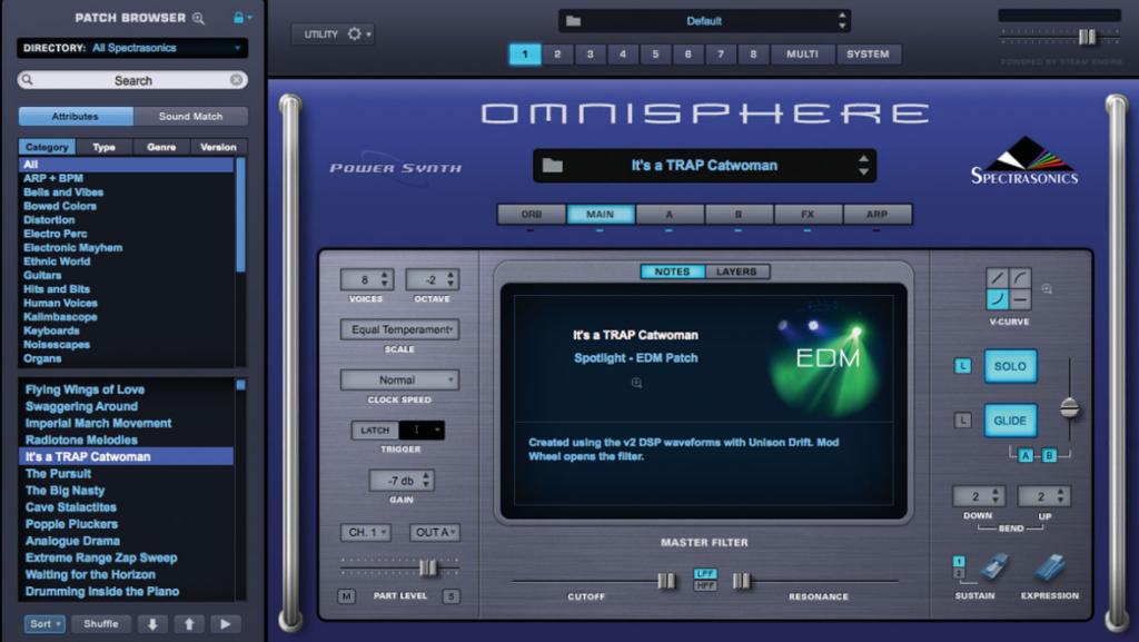 Omnisphere 2 Spectrasonicsl - плагин для FL Studio