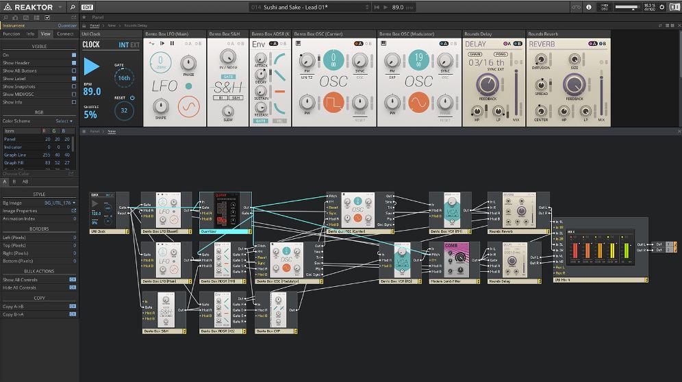 Reaktor 6 от Native Instrumentsl - плагин для FL Studio