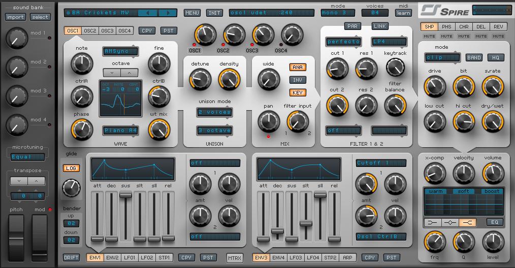 Spire RevealSoundl - плагин для FL Studio
