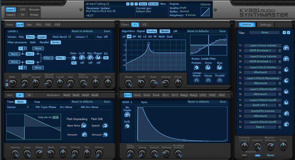 Synthmaster 2 KV331 Audiol - плагин для FL Studio